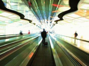размытая картинка метрополитена