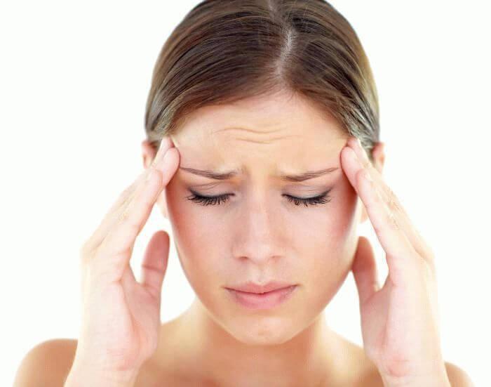 Болит голова в висках (давит причины) 43