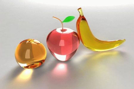 модели фруктов