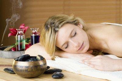 массаж с аромотерапией