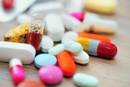 разные таблетки