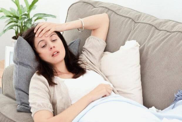 болит голова у беременной