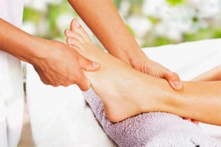 точечный массаж ноги