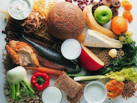 набор продуктов для сбалансированного питания