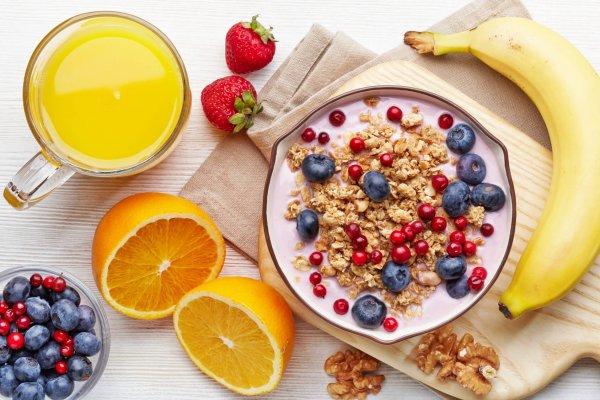 Завтрак дает энергию на весь день